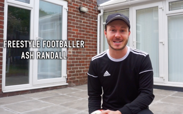 Doncaster Kicks team up with Freestyle Footballer Ash Randall for skill tutorials