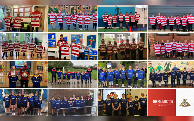 22 Doncaster primary schools receive Rovers kits thanks to generous donation from the football club